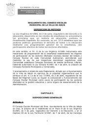 Reglamento Consejo Escolar Municipal Adeje - Ayuntamiento de ...