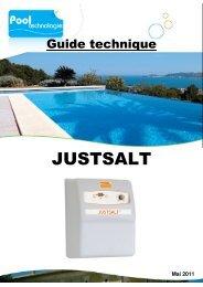 JUSTSALT - Pool Technologie