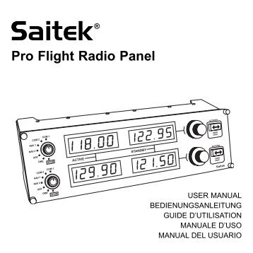 Pro Flight Radio Panel - Saitek