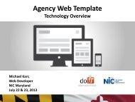 Agency Web Template