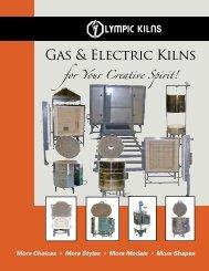 New Gas & Electric Kilns Catalog - Olympic Kilns