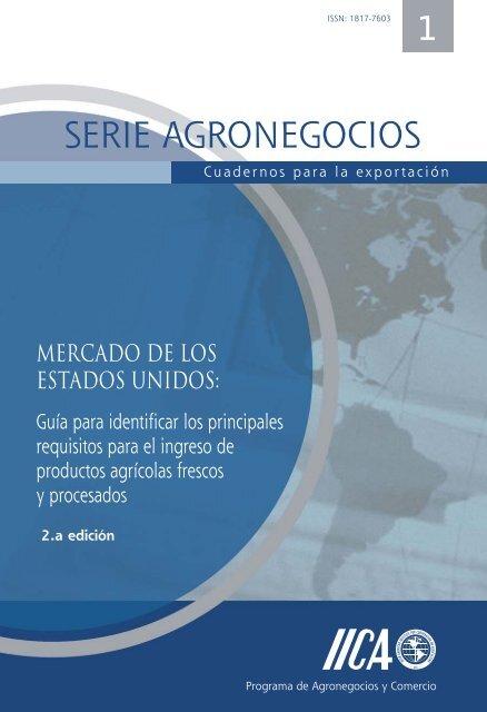 serie agronegocios - Instituto Interamericano de Cooperación para ...