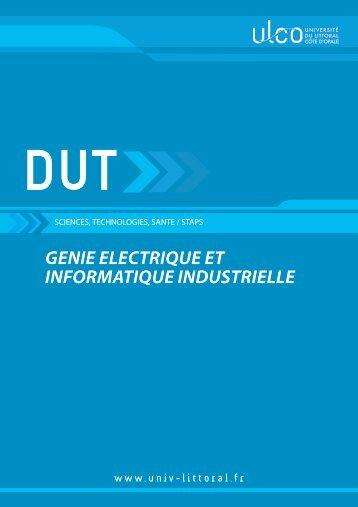 DUT Génie Electrique et Informatique Industrielle - Université du ...