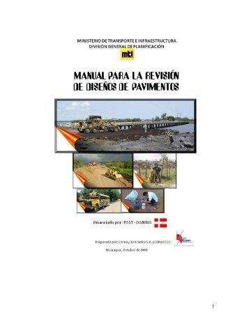 manual para la revisión de diseño de pavimento