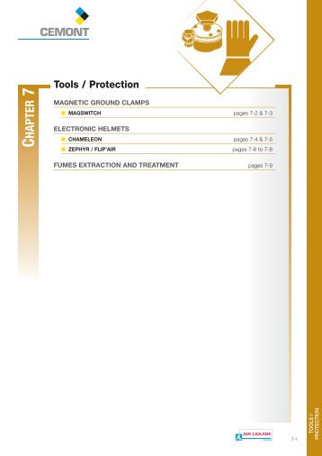 Chap.7 Tools/Protection - Cemont