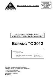 BORANG TC 2012