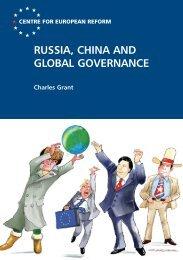 RUSSIA, CHINA AND GLOBAL GOVERNANCE - CC