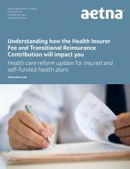 Aetna Brochure - Steve Shorr Insurance