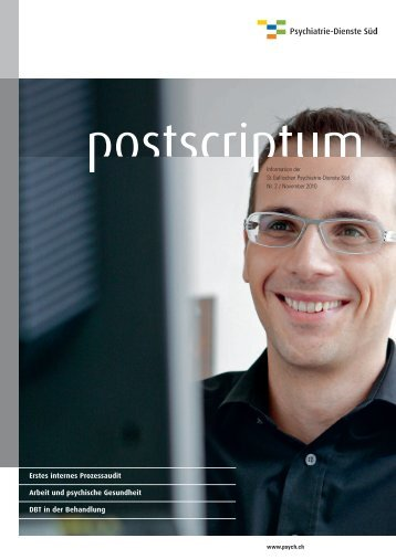 November 2010 - Psychiatrie-Dienste Süd