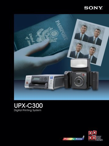 UPX-C300 - Sony Asia Pacific