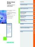 Catalogue général moteurs asynchrones Siemens - MIDI Bobinage - Page 3