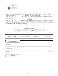modello 4 gap pdf - Dipartimento di Comunicazione e Ricerca Sociale