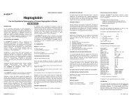 Haptoglobin - LAB MARK