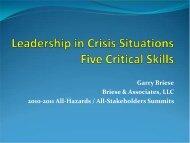 Garry Briese-Leadership in Crisis Situations - Navigator