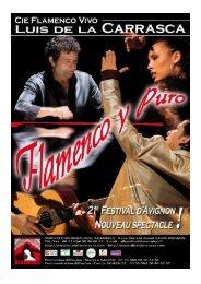 dossier presse Flamenco y Puro - Centre Culturel des Carmes
