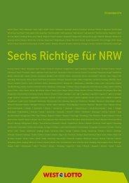 Geschäftsbericht 2011 Finanzen - Westdeutsche Lotterie GmbH ...