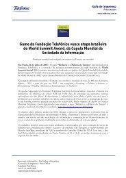 em página nova (PDF 147 KB) - Sala de prensa - Telefonica