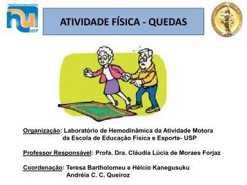 ATIVIDADE FÍSICA - QUEDAS