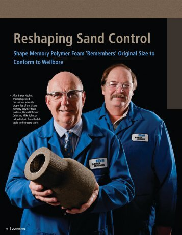 Reshaping Sand Control Shape Memory Polymer ... - Petroleum Africa