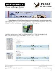 1/6 Produsele EAGLE folosesc o tehnologie care protejeaza ...