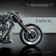 The MANSORY Zapico custom bike