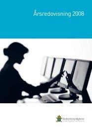 Årsredovisning 2008 - Ekobrottsmyndigheten