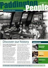 Discover our history - Paddington Development Trust