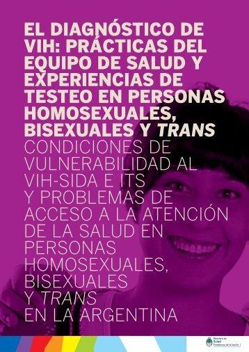 EL DIAGNÓSTICO DE VIH: PRÁCTICAS DEL EQUIPO DE SALUD Y ...