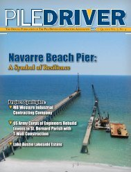 Full Issue (32MB) - Pile Driving Contractors Association