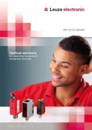 Optical sensors - Leuze electronic