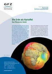 Die Erde als Kartoffel Das Potsdamer Geoid - MaxPunkte