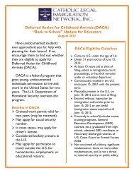 School DACA Flyer for Educators - Catholic Legal Immigration ...