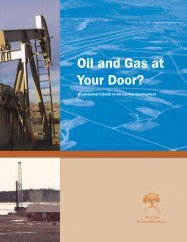 Oil and Gas at Your Door? - Wildlands CPR
