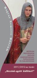 letölthető programfüzetünkből - Magyar Nemzeti Múzeum