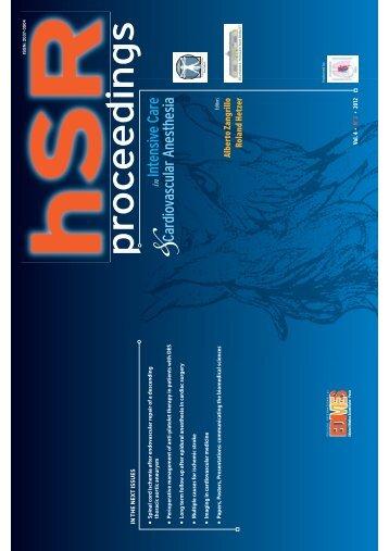 Full HSR proceedings Vol. 4 - N. 2 2012 in PDF