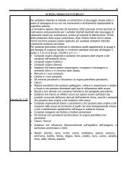 Scheda serbatoi interrati ed elenco documentazione - ARPA Umbria