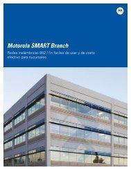 Motorola SMART Branch - Motorola Solutions