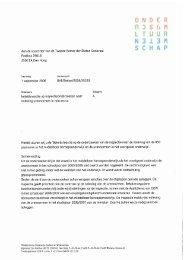 Aanbiedingsbrief aan de Tweede Kamer - MBO Raad