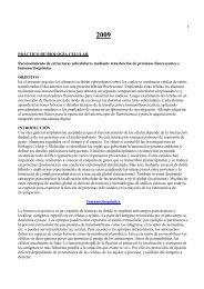 1 PRÁCTICO DE BIOLOGÍA CELULAR Reconocimiento de ...