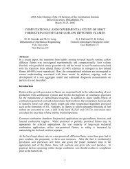 computational and experimental study of laminar ... - Yale University
