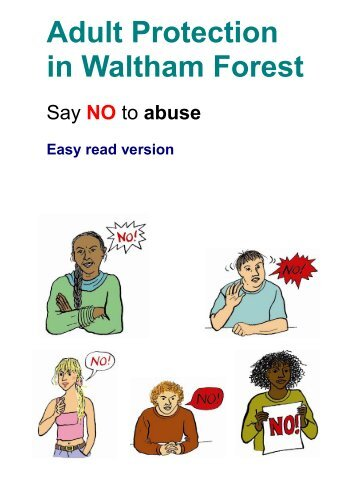 Say no to abuse - Waltham Forest Council