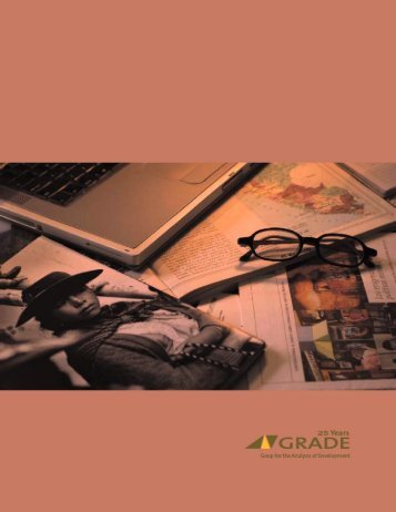 Untitled - Grupo de Análisis para el Desarrollo (GRADE)
