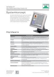 Download DataSheet POS Steel Touch PC - Vendomat AG