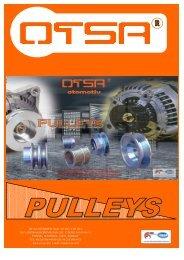 Alternator pulleys