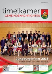 Timelkamer Gemeindenachrichten NOV. 2013.indd