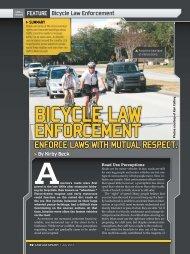 Bicycle Law Enforcement - Windermere Roadies