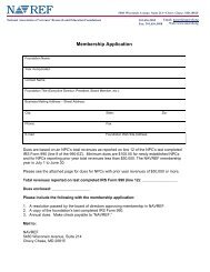 Membership Application - NAVREF