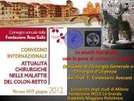 E. Contessini Avesani - Società Triveneta di Chirurgia
