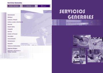 SERVICIOS GENERALES