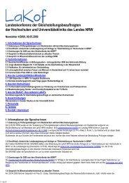 Newsletter Nr. 04/2009 - LaKof NRW